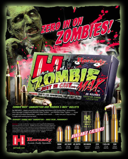 Tip Of The Week. Zombie Ammo!