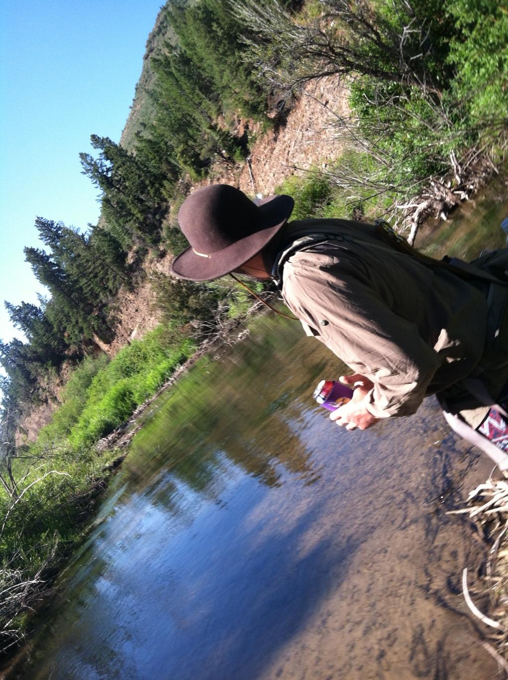 Small creek fishin