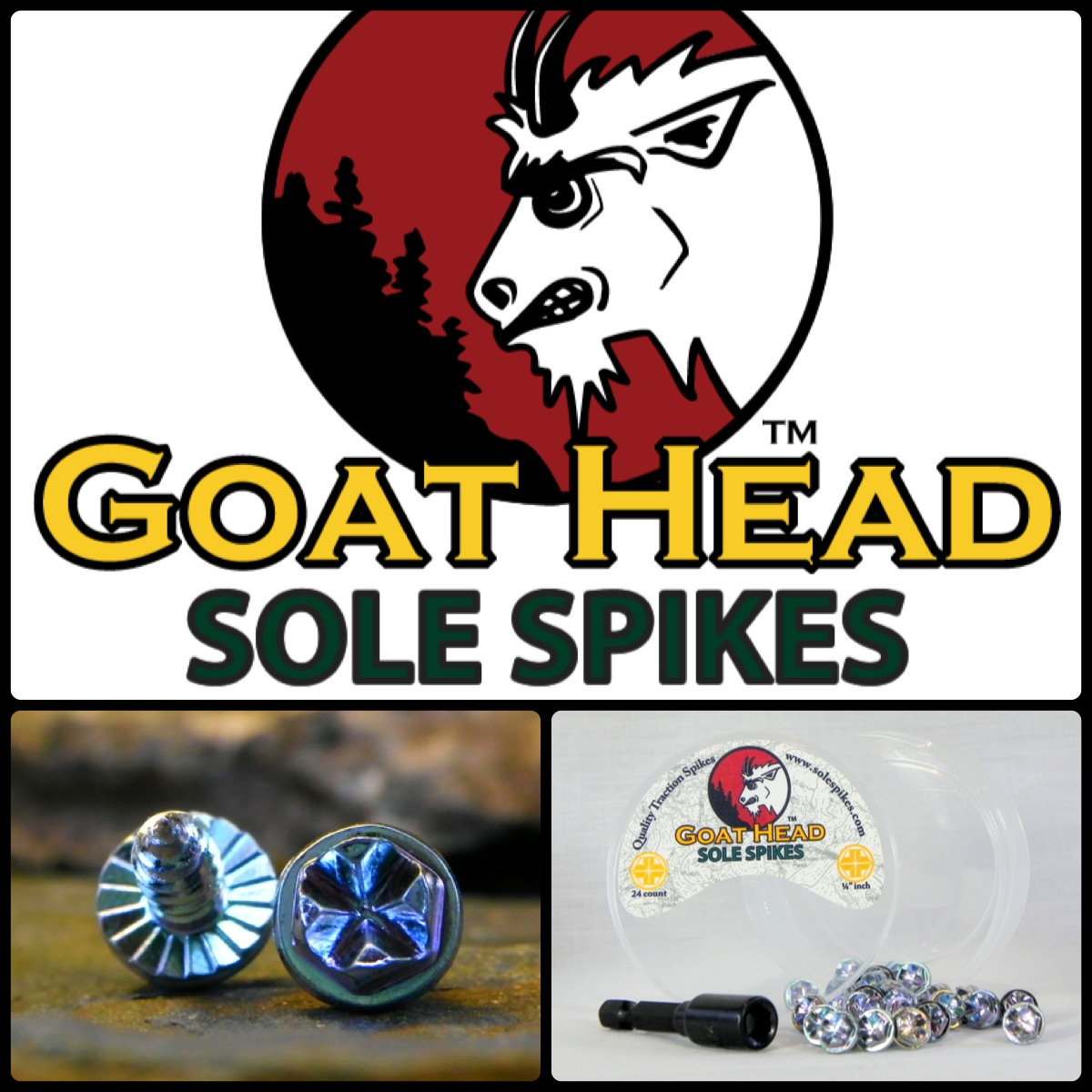 Goat Head Sole Spikes